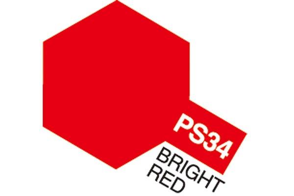 Tamiya PS-34 BRIGHT RED