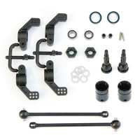Driveshafts M6 and hub carriers Rear