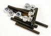 Set /grub) screws, 3x25mm (8)/ 3mm nylon locknuts