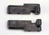 Servo mounts, steering/shift (f&r) (black)
