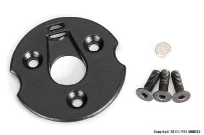 Telemetry trigger magnet holders, spur gear