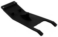 Front skid plate - black
