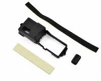 Box, receiver/ ESC mount/ rubber plug/ adhesive fo