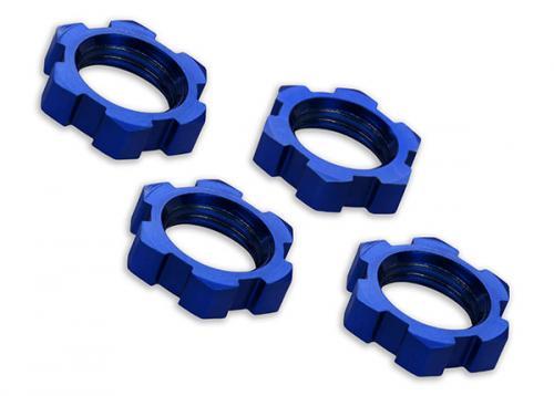 Hjulmutter Aluminium Blå 17mm (4)