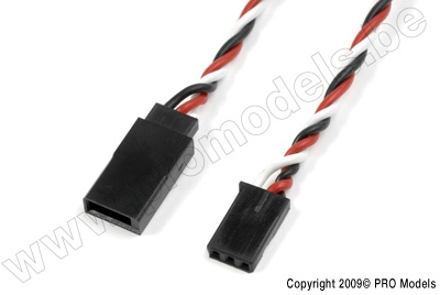 "Extension wire ""HD silicon twisted"" Futaba, 22AWG,"
