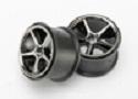 Traxxas Wheels Gemini, black chrome