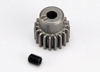 Gear, 19-T pinion (48-pitch) / set screw