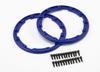 Sidewall protector, beadlock style (blue) (2)