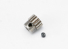 Gear, 14-T pinion (0.8 metric pitch, compatible wi