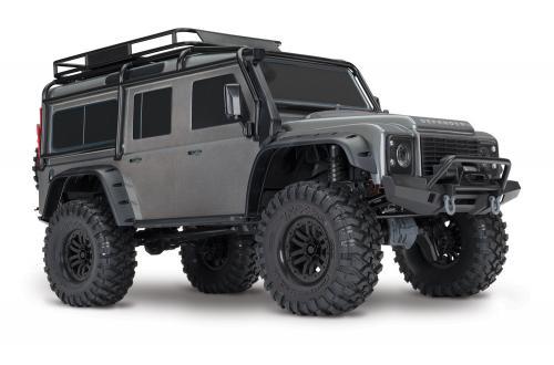Traxxas TRX-4 Scale Crawler Land Rover Defender D110 RTR  SILVER