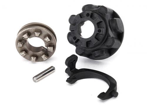 Diff. delar (Carrier, Slider & T-lock) TRX-4