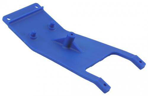 Front skid plate - blue