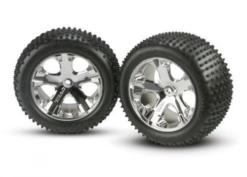 Traxxas Alias tires chrome wheel