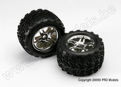 Tires & wheels, assembled, glued (SS (Split Spoke)