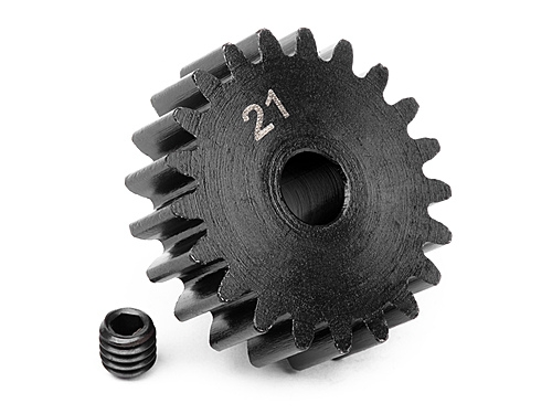 PINION GEAR 21 TOOTH (1M / 5mm SHAFT)