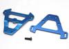 Bulkhead tiebars, front & rear (blue-anodized alum