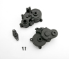 Gearbox halves (front & rear)/ shift detent ball/