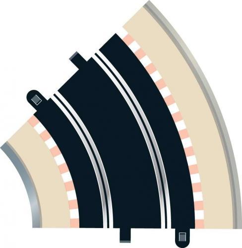 Scalextric Rad 2 Std Curve 45° (2st)