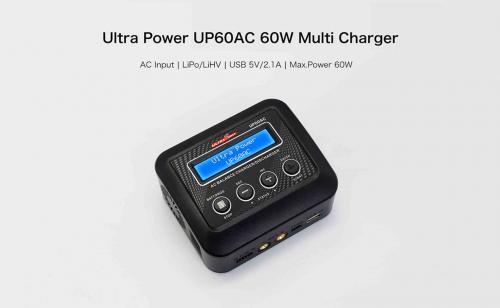 Ultra Power 60W 6A AC Laddare