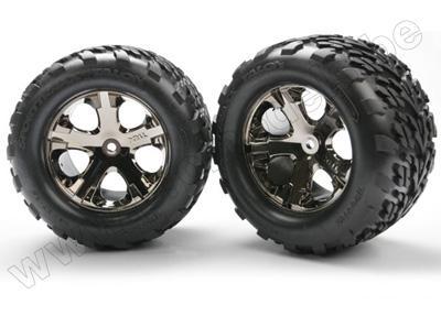 "Tires & wheels, assembled, glued (2.8"") (All-Star"