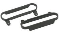 BLACK NERF BARS SLASH & SLASH 4X4