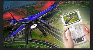 JS Toys Quadrocopter med LCD skärm JJ-669