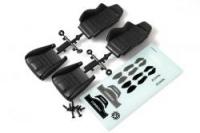Corbeau LG1 Seat (Black) (2pcs)