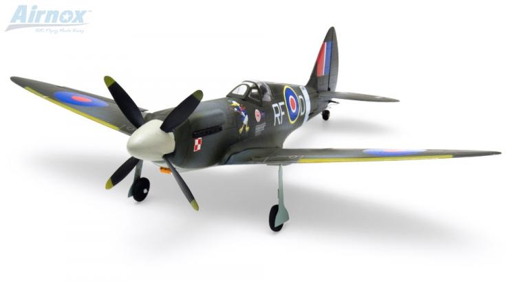Airnox UMS Spitfire RTF 4ch med 3AXG Gyro