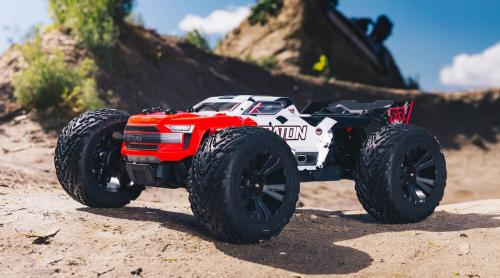 1/10 KRATON 4x4 4S BLX Brushless Monster Truck RTR, Red