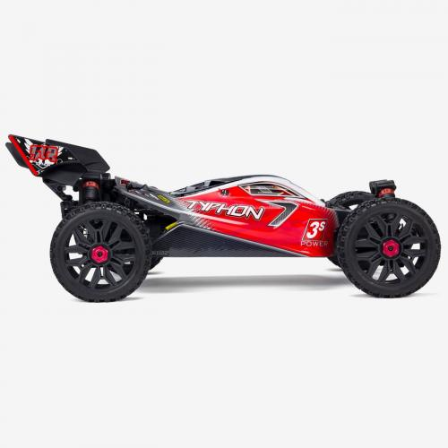 1/8 TYPHON 3S BLX 4x4 Brushless Buggy RTR, Black (ARA102722)