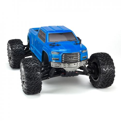 ARRMA 1/10 BIG ROCK CREW CAB 4x4 3S BLX Brushless RTR, Blue (ARA102723)