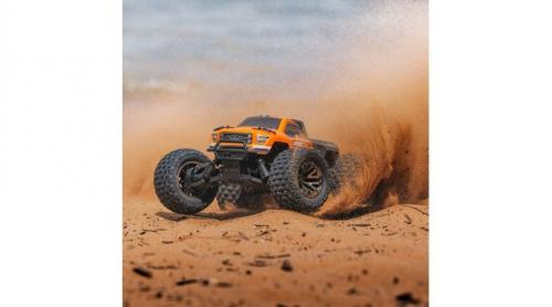 Arrma 1/10 GRANITE 3S BLX 4WD Brushless Monster Truck with Spektrum RTR, Orange/Black Lipo Edition