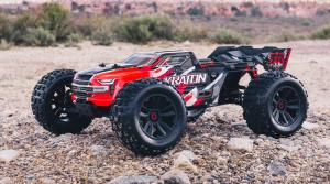 ARRMA KRATON 6S 4WD BLX 1/8 SPEED MONSTER TRUCK RTR RED