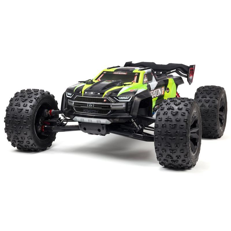 Arrma 1/5 KRATON 4X4 8S BLX Brushless Speed Monster Truck RTR, Green