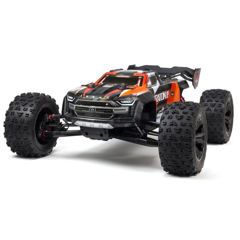 Arrma 1/5 KRATON 4X4 8S BLX Brushless Speed Monster Truck RTR, Orange