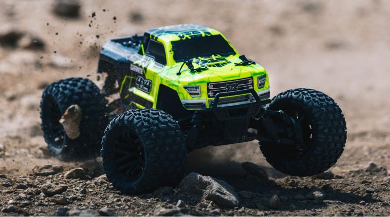 Arrma 1/10 GRANITE 4x4 Mega Brushed Monster Truck RTR, Green/Black