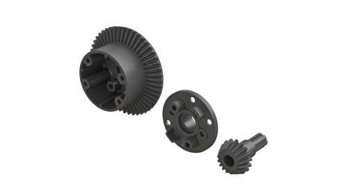 Diff Case 49T Main Gear 17T Input Gear Set (ARAC4025)