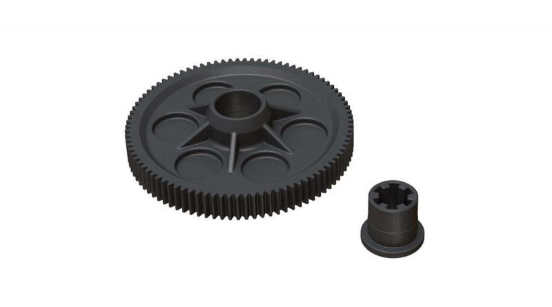 Spur Gear 91T 48DP 4x4 Mega (ARAC9245)
