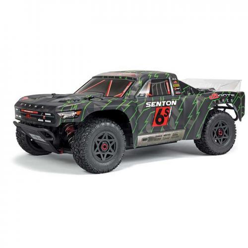 Arrma 1/10 SENTON BLX SC Brushless Truck 4WD RTR, Black/Green