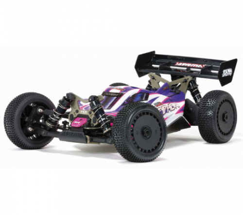 ARRMA® TLR® Tuned TYPHON™ 1/8 Race Buggy 4WD Roller