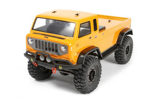 "Axial Jeep Mighty FC Body - .040"" (Clear)"