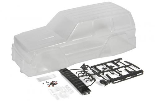 Axial 2000 Jeep Cherokee Body .040 Clear Body Only (AXIC1337)