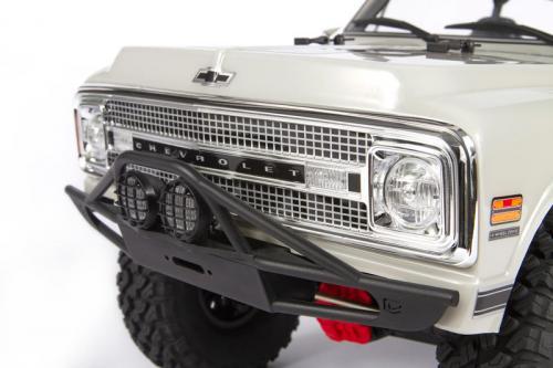 """Axial 69 Chevy K5 Blazer Body .04"""" Uncut, Clear (AXIC1554)"""