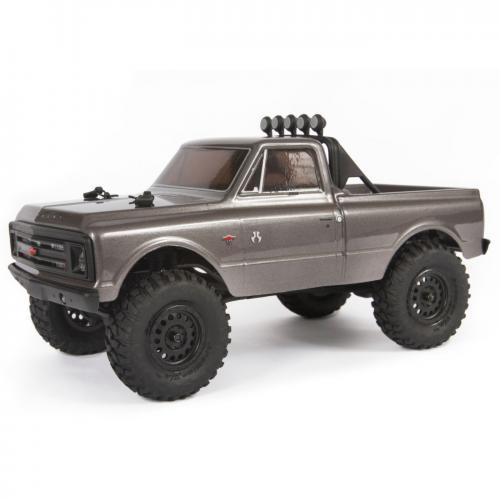 Axial SCX24 1967 Chevrolet C10 4WD Truck 1/24 RTR, Silver