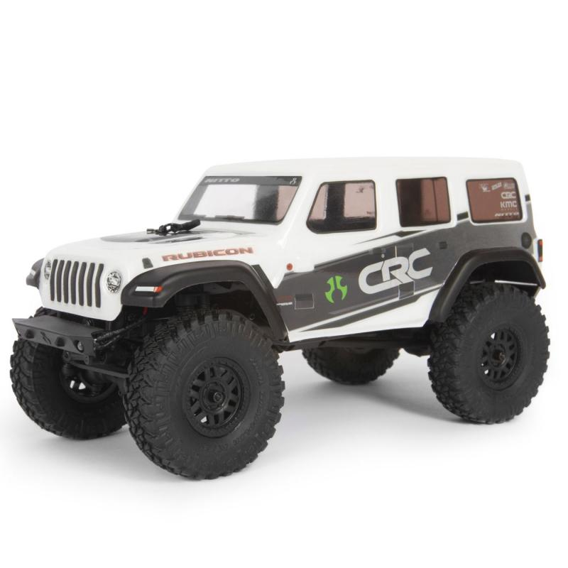Axial 1/24 SCX24 2019 Jeep Wrangler JLU CRC Rock Crawler 4WD RTR, Whit