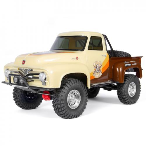 Axial SCX10 II 1955 Ford 1/10th 4wd RTR Brown