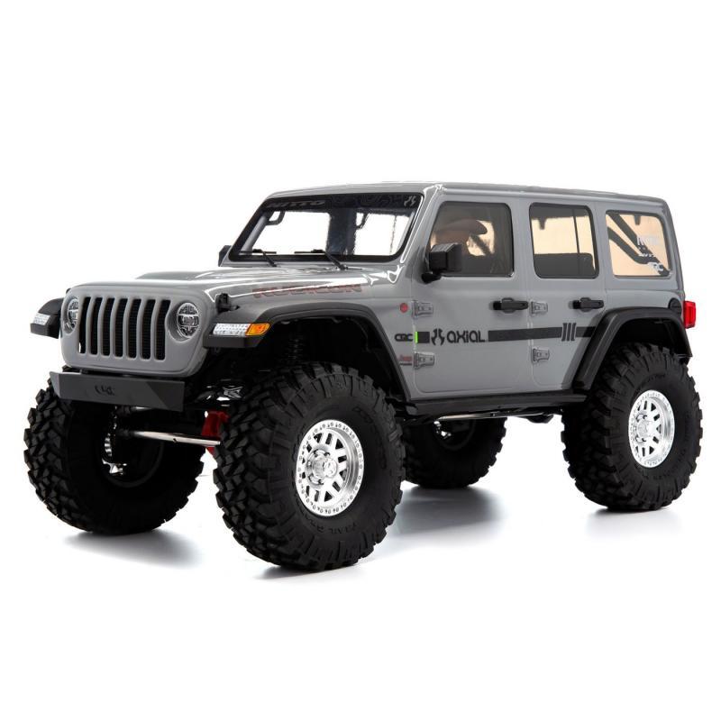 Axial SCX10 III Jeep JLU Wrangler RTR Grey