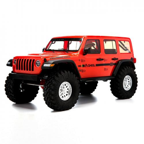 Axial SCX10 III Jeep JLU Wrangler RTR Red