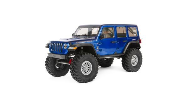 1/10 SCX10 III Jeep JLU Wrangler with Portals 4WD Kit