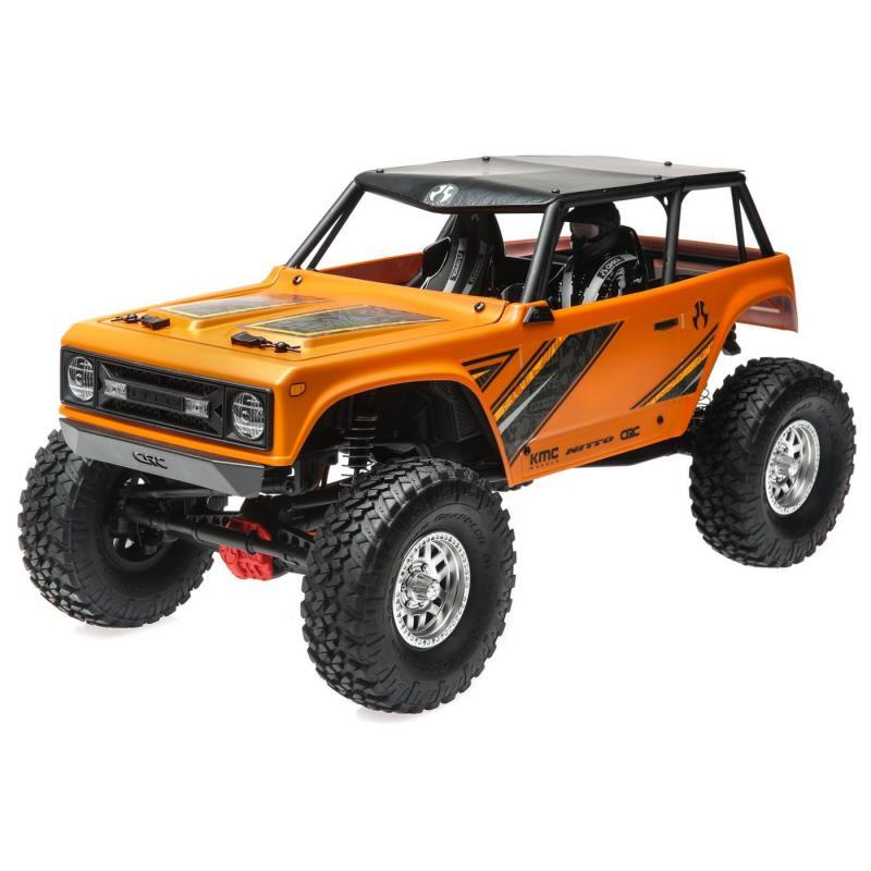 1/10 Wraith 1.9 4WD Brushed RTR, Orange